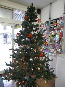 刺繍屋ドットコム恒例のクリスマスツリー
